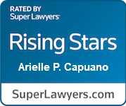 Super Lawyer Rising Star Arielle Capuano